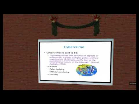 Cybercrime and the Commonwealth - Dr Clare Chambers