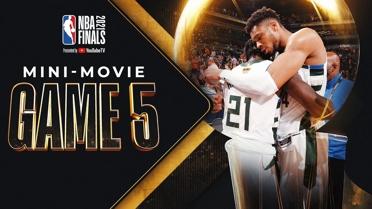Bucks Get It Done on the Road: NBA Finals Game 5 MINI-MOVIE! 🔥