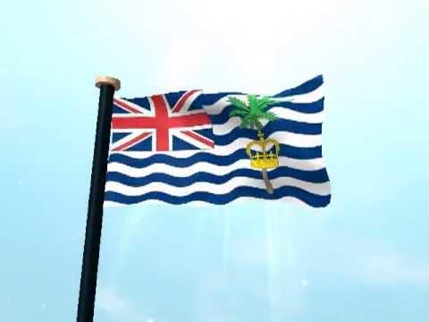 British Indian Ocean Territory Flag 3D Live Wallpaper