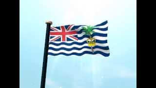 British Indian Ocean Territory Flag 3D Live Wallpaper