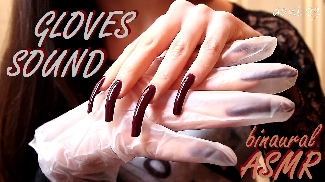 🎧 1 HOUR of intense ASMR with 👂 Latex GLOVES sound! 👀 + NAILS ...