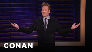 Conan: My Dog Is Thinking About Running For President - CONAN on TBS