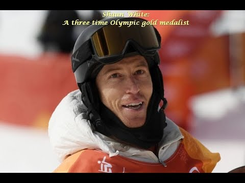Shaun White - a three-time Olympic gold medalist - Interview