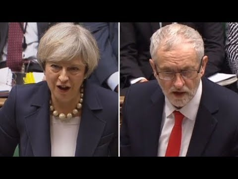 Follow live coverage from the House of Commons as the prime minister faces her weekly grilling from the Labour leader.  • Subscribe to ITV News on YouTube: http://bit.ly/2lOHmNj  • Get breaking news and more stories at http://www.itv.com/news  Follow ITV News on Facebook: https://www.facebook.com/itvnews/  Follow ITV News on Twitter: https://twitter.com/itvnews  Follow ITV News on Instagram: https://www.instagram.com/itvnews/