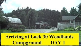RV Camping trip Lock 30 Day1