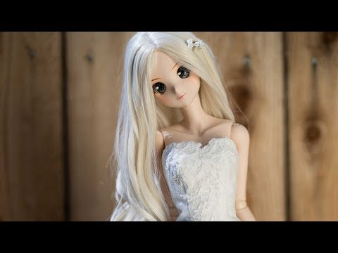 Smart Doll Bridal Dress 2018 4K