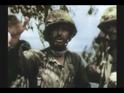 WWII PALAU 2 OF 3 RARE COLOR FILM