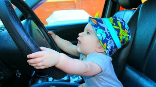 We are in the car + More Rhyme   Baby Monkey Animals   Dance Along