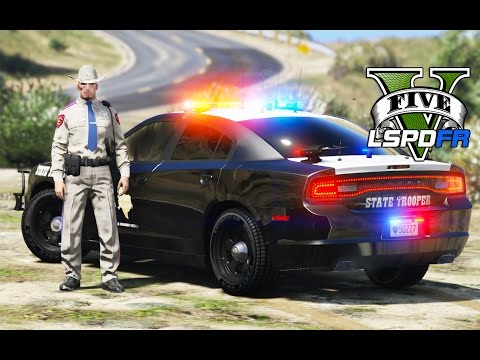 GTA 5 - LSPDFR Ep93 - Texas State Troopers in Action!!