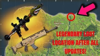 LEGENDARY SCAR LOCATION? HOW TO GET THE BEST LOOT EVERY TIME in FORTNITE BATTLE ROYALE!