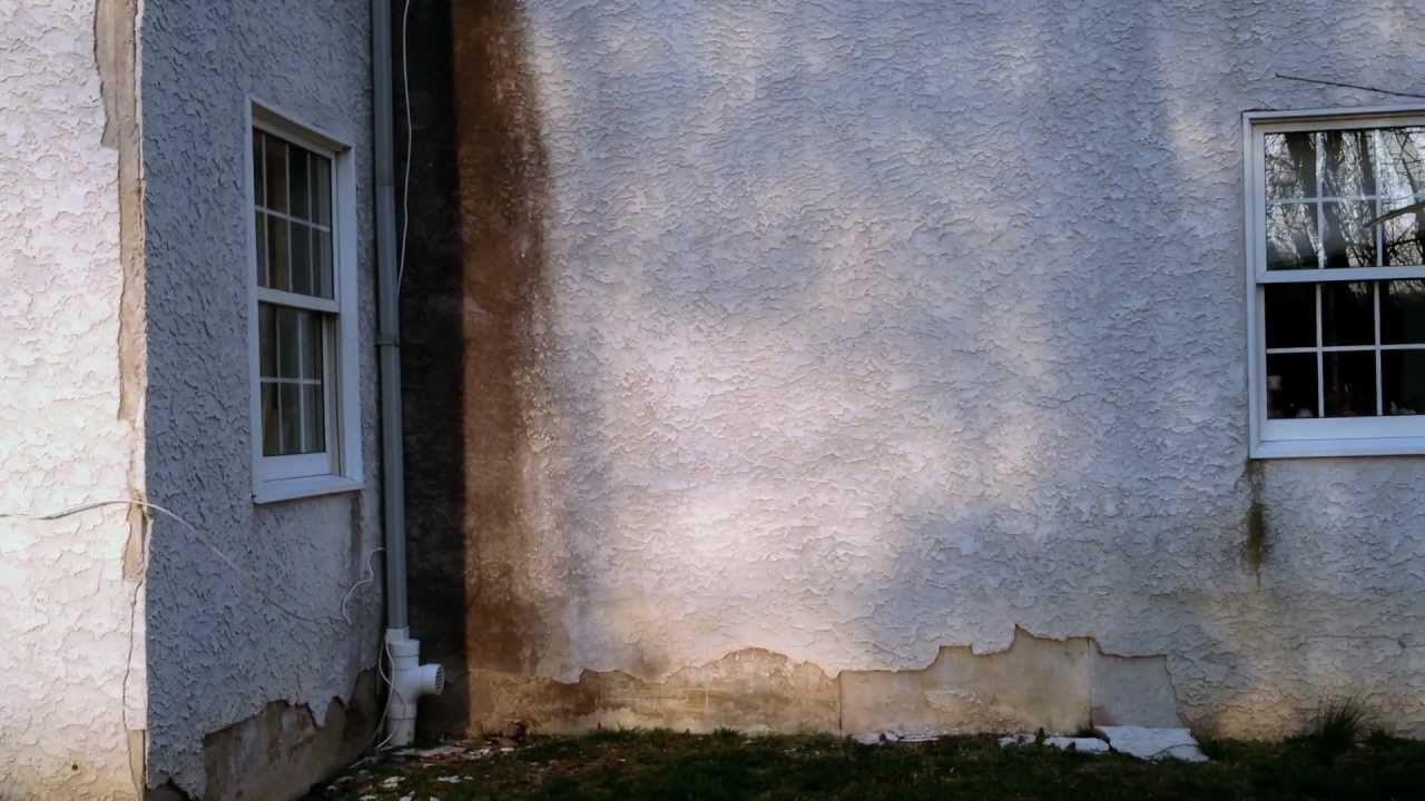Old Stucco Exterior