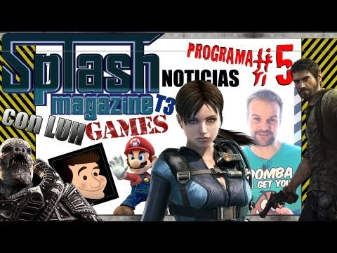 Noticias | Splash Magazine Games | Programa 5 T3