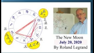 The New Moon of July 20, 2020 by Roland Legrand