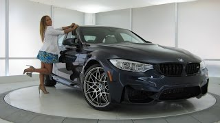 """New BMW M3 Tanzanite Blue Competition Package / Exhaust Sound / 20"""" M Wheels / BMW Review"""