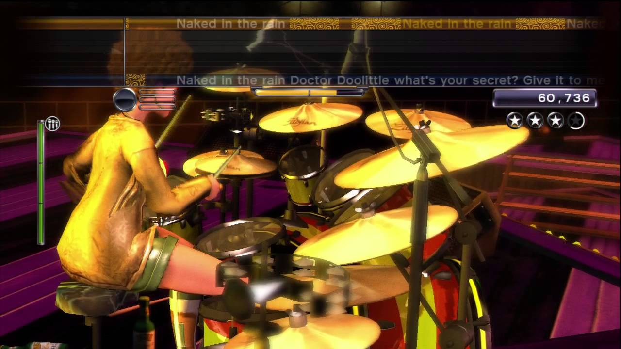 Red Hot Chili Peppers - Naked In The Rain - Rock Band -8605