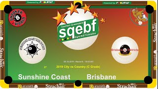 SQEBF City v Country | C Grade 8 Ball Teams -  Sunny Coast v Brisbane