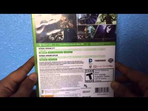 Batman: Arkham City & Arkham Asylum Review For Xbox 360