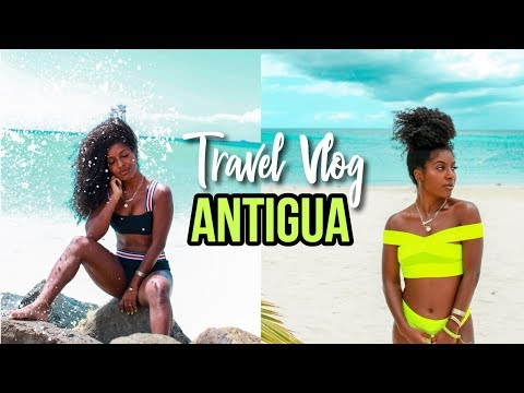 ANTIGUA | FAMILY TRAVEL VLOG!