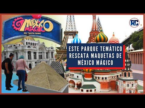 Este PARQUE TEMÁTICO rescato MAQUETAS del EXTINTO parque MÉXICO MÁGICO CHAPULTEPEC | Minimundos
