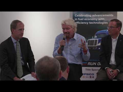 Sir Richard Branson Talks Run on Less, Post-2017 Hurricane on Necker Island