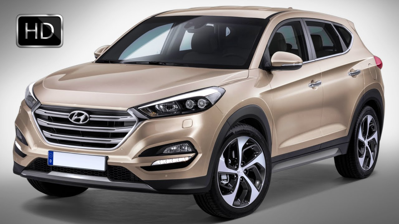 2016 All-New Hyundai Tucson Crossover Exterior and ...