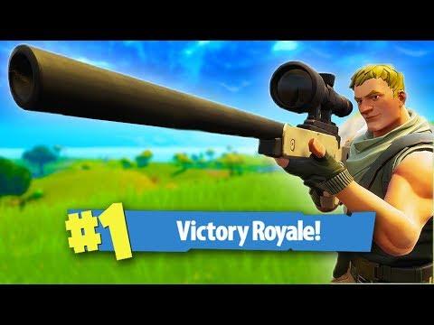 SNIPER SHOOTOUT V2! *360 NO SCOPE!* | Fortnite Battle Royale