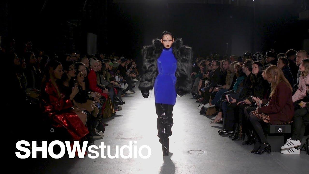 ac6c5a5e Gareth Pugh Autumn/Winter 2018 Show Footage - YouTube