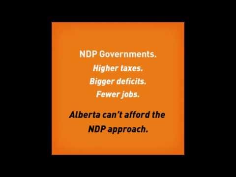 What would an NDP government do to Alberta?