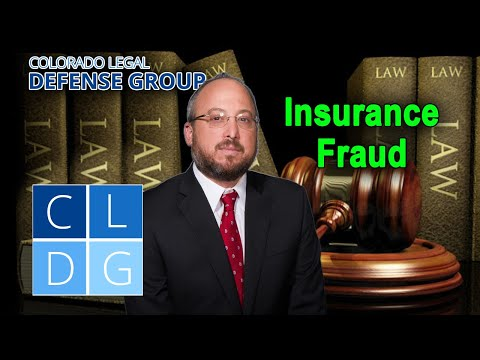 Insurance Fraud in Colorado – Can I go to jail?