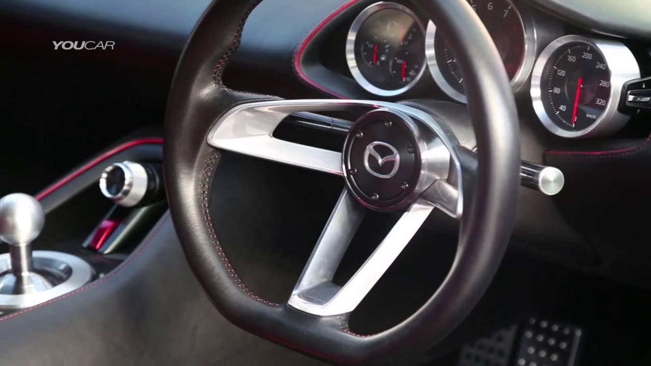 Mazda Rx Vision Concept Exterior And Interior Walkaround