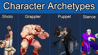 Character Archetypes in Fighting Games | Full Breakdown/Video Essay