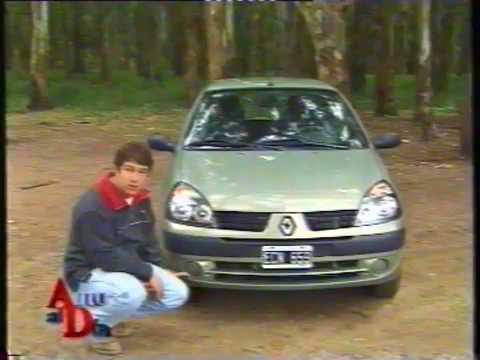 RENAULT CLIO EXPRESSION 15 dCi (2003) TEST AUTO AL DÍA  YouTube