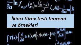 15.5 MATEMATаKCALCULUS 2  wok DeПikenli Fonksiyonlar  аkinci t¬rev testi teoremi ve ¦rnekleri