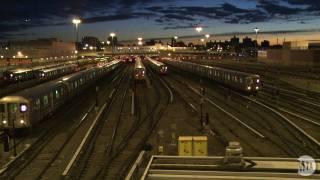 Time Lapse: Corona Subway Yard