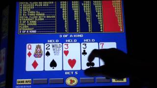 IGT Game King - Video Poker $20 Challenge