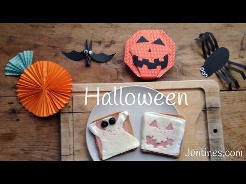 Terroríficos fantasmas que se pueden comer en una fiesta infantil de Halloween