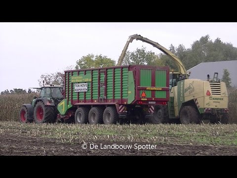 Mais 2015 | Krone Big X 650 | Ten Hove uit Kamperveen | 4 Fendt`s