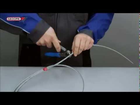 Nueva tijera para cable trenzado gedore 8320 200 jl youtube - Cable acero trenzado ...