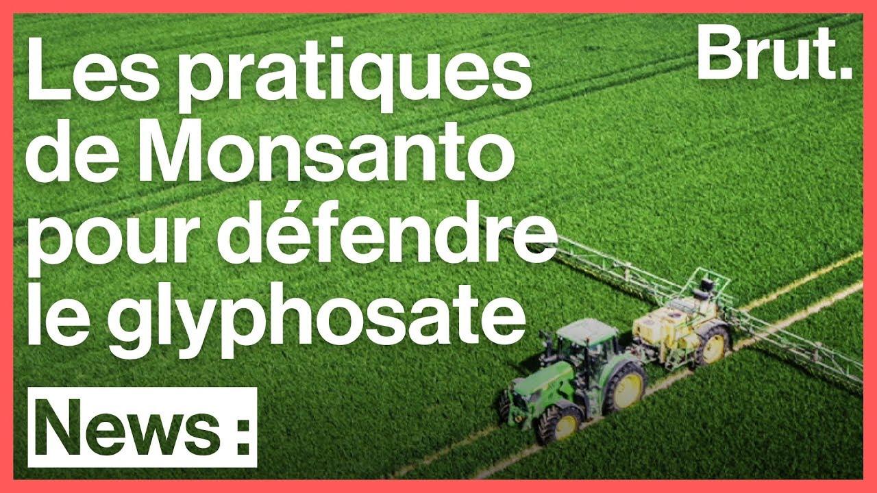 Monsanto aurait créé et financé de faux agriculteurs pour défendre le glyphosate