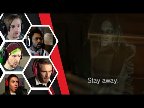 Let's Players Reaction To Eveline Telling You To Stay Away | Resident Evil 7