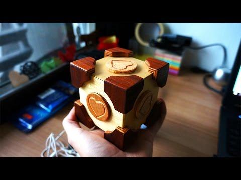 Companion cube puzzle box version 2.0