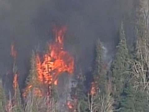 High heat and strong winds fuel Washington wildfires