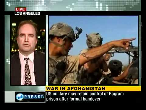Press TVs Kaneez Fatima talks to James Morris on War in Afghanistan