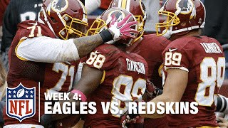 Redskins WR Pierre Garcon Scores Amazing Game-Winning TD | Eagles vs. Redskins | NFL