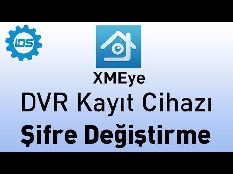 DVR Kayıt Cihazı Şifre Koyma - Şifre Değiştirme - XMEYE