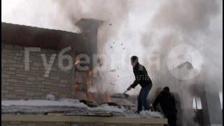 Кафе китайской кухни горело в Хабаровске.  MestoproTV