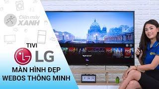 Tivi LG: màn hình 4K, WebOS, tìm kiếm bằng giọng nói tiếng Việt (55UM7290PTD) | Điện máy XANH