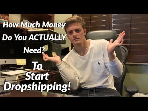 How Much Money Do You ACTUALLY Need to Start Dropshipping! thumbnail