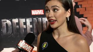 Finn Jones and Jessica Henwick talk Iron Fist's return at the Defenders Red Carpet Premiere Top 10 Video