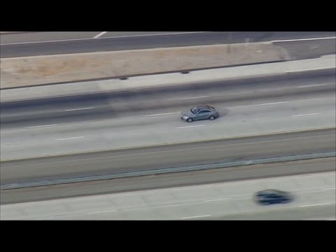 Pursuit that started in Los Angeles ends in Kern County